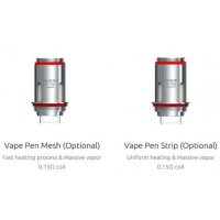 SMOK Vape Pen 22 / Vape Pen Plus Mesh and Strip Replacement Coil
