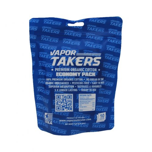 VAPOR Takers - Premium Organic Cotton